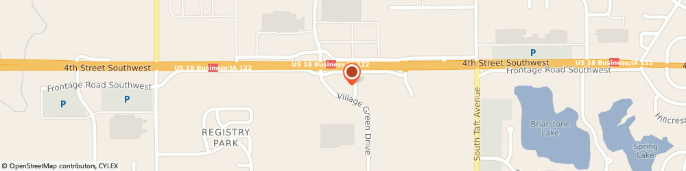 Route/map/directions to Big O Tires, 50401 Mason City, 519 Village Green Dr SW