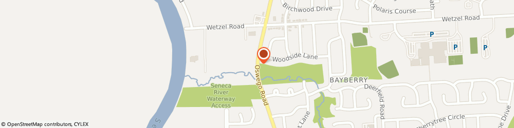 Route/map/directions to Safeco Insurance Agent, 13090-2322 Liverpool, 7789 Oswego Rd