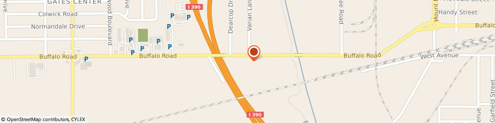 Route/map/directions to Cardwell Construction Co Incorporated, 14603 Rochester, 955 Buffalo Rd Ste 9