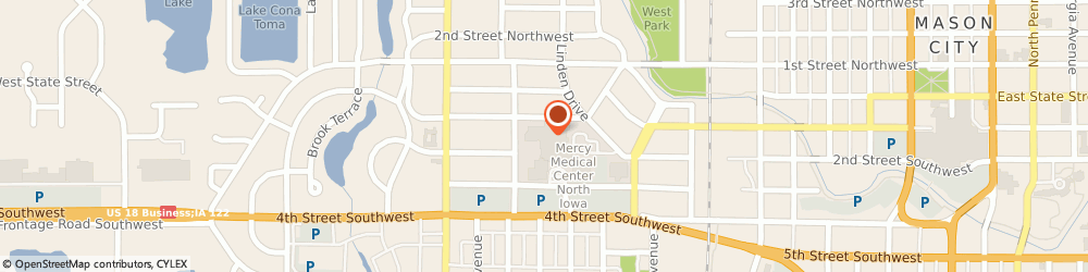 Route/map/directions to Forest Park Orthotics & Prosthetics, 50401 Mason City, 1000 4TH STREET SOUTHWEST