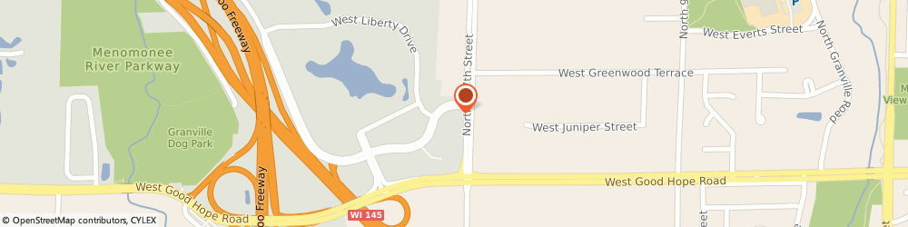 Route/map/directions to Park Place KinderCare, 53224 Milwaukee, 10715 W Park Pl