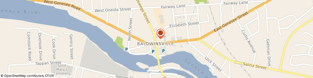 Route/map/directions to STATE FARM Scott Northrup, 13027 Baldwinsville, 52 Oswego Street Suite 1