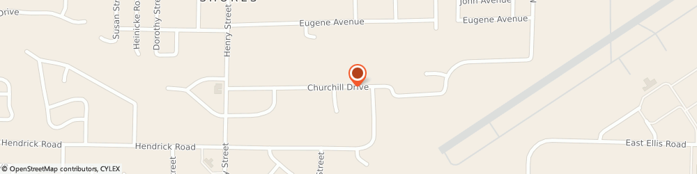 Route/map/directions to J & T Installers, 49441 Muskegon, 481 Churchill Dr