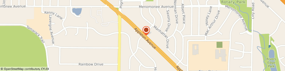 Route/map/directions to American Family Insurance- Wagner, Jodi, 53051 Menomonee Falls, N80 W14950 APPLETON AVE