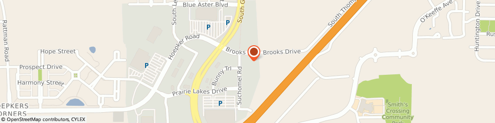 Route/map/directions to All U-Store Mini Storage, 53590 Sun Prairie, 3425 Brooks Dr