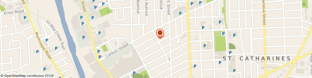 Route/map/directions to Davert Tools Inc., L2E 6X8 St. Catharines, 5676 PROGRESS ST