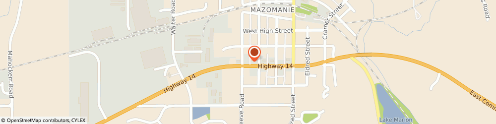 Route/map/directions to Navy Federal Credit Union, 53560 Mazomanie, 222 West Commercial Street