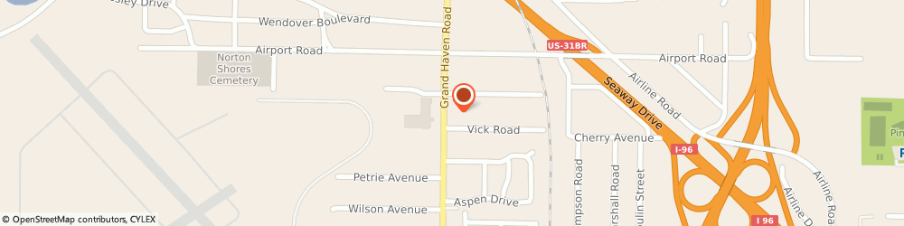 Route/map/directions to Pizza Hut, 49441 Muskegon, 4318 Grand Haven Rd.