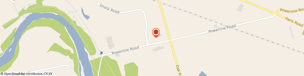 Route/map/directions to Purolator, Shipping Centre - Brantford, N3T 5L7 Brantford, 769 Powerline Rd