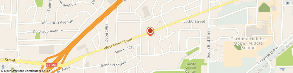 Route/map/directions to Four Seasons Craft Mall, 53590 Sun Prairie, 1323 W Main St