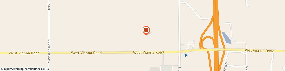 Route/map/directions to U-Haul Co., 48420 Clio, 5156 W VIENNA RD