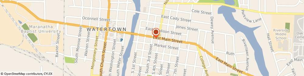 Route/map/directions to Progressive Insurance, 53094 Watertown, 119 N Third St