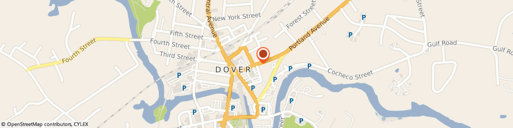Route/map/directions to St George Maronite Catholic Church, 03820 Dover, 22 Chapel St
