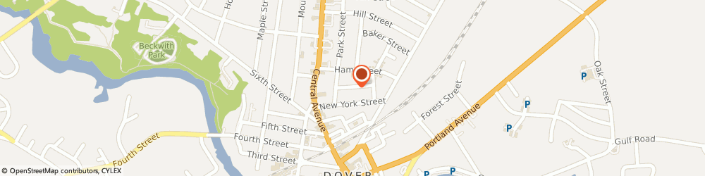 Route/map/directions to Penske Truck Rental, 03820 Dover, STREET