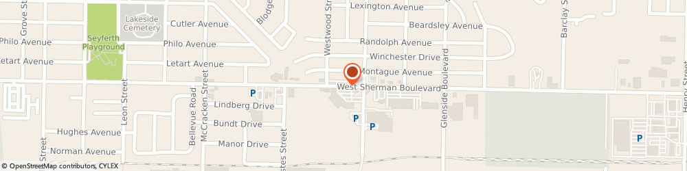 Route/map/directions to China Wok, 49441 Muskegon, 1633 WEST SHERMAN BOULEVARD