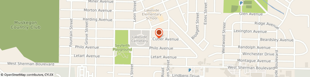 Route/map/directions to Alpha Beta Preschool, 49441 Muskegon, 2073 CUTLER AVE
