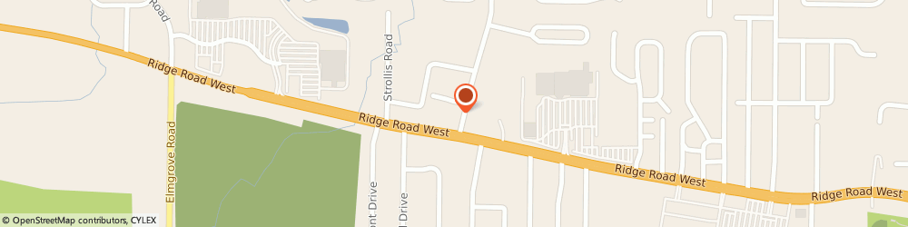 Route/map/directions to BBS Tech, 14626 Rochester, 3400 Ridge Road West, Suite 6