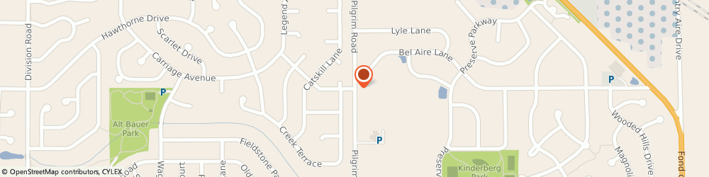 Route/map/directions to American Family Insurance, 53022 Germantown, W156N11042 PILGRIM ROAD