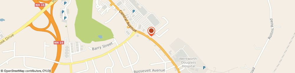 Route/map/directions to Liberty Mutual DOVER, 03820 Dover, 828 Central Ave.