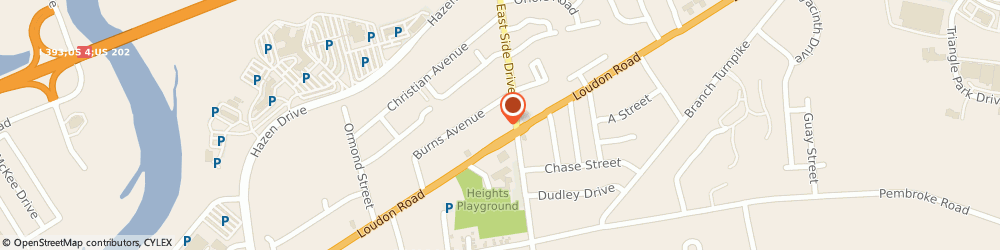 Route/map/directions to Santander Bank ATM, 03301 Concord, 157 Loudon Rd