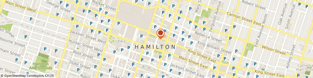 Route/map/directions to Bank Of Nova Scotia - Private Banking, L8N 3B5 Hamilton, 4 HUGHSON STREET S, 10TH FLOOR
