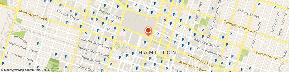 Route/map/directions to Investors Group - MARTIN SALETA, L8P 4W7 Hamilton, 21 King St W, Suite 400