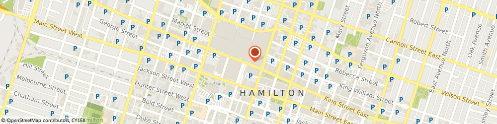 Route/map/directions to RBC Wealth Management, Garth R. Lauer, L8P 1A2 Hamilton, 100 King Street West - 15Th Flr Suite 1500