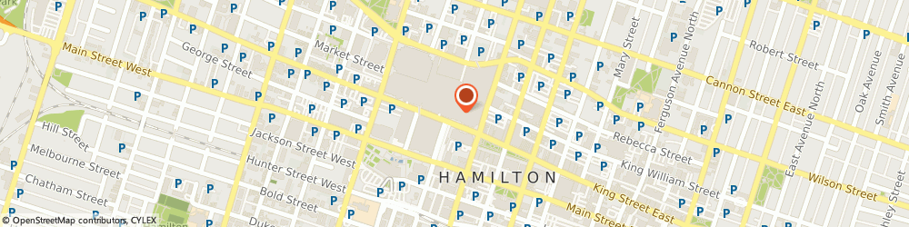 Route/map/directions to Jeffery Wilson - TD Wealth Private Investment Advice, L8P 1A2 Hamilton, 100 King Street West