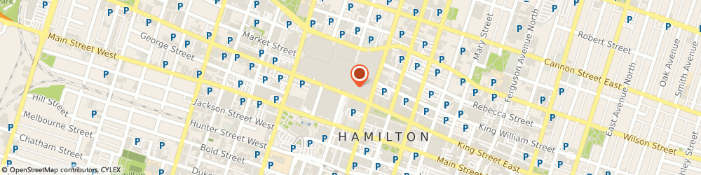 Route/map/directions to Jeffrey Holk - TD Wealth Private Investment Advice, L8P 1A2 Hamilton, 100 King Street West