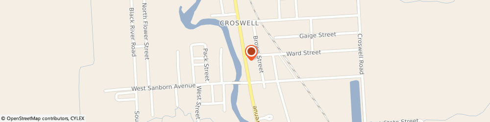 Route/map/directions to Riverside Family Dining, 48422 Croswell, 27 NORTH HOWARD AVENUE