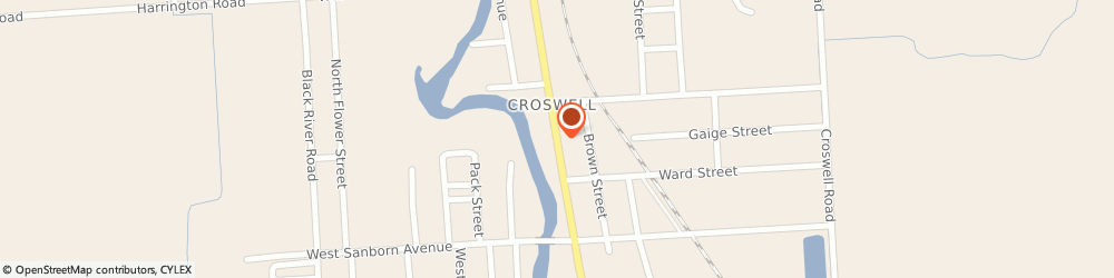 Route/map/directions to Westbrook True Value Hardware Incorporated, 48422 Croswell, 76 North Howard Avenue