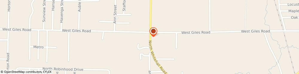 Route/map/directions to National City Bank, 49445 Muskegon, 1375 Whitehall Rd