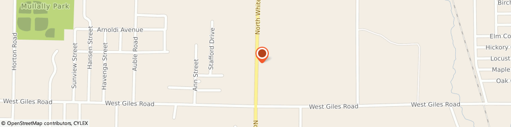 Route/map/directions to Pines Motel/North Muskegon Inc, 49445 Muskegon, 1507 WHITEHALL RD