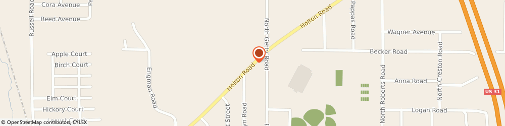Route/map/directions to Craigs Hardware Incorporated, 49445 Muskegon, 1745 Holton Road