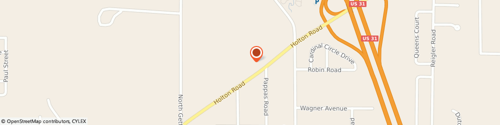 Route/map/directions to Latsch Floor Covering, 49445 Muskegon, 1971 Holton Rd Ste 3