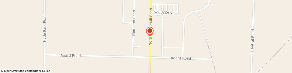 Route/map/directions to Carmichael Heating & Air Conditioning, 49445 Muskegon, 2711 Whitehall Rd.
