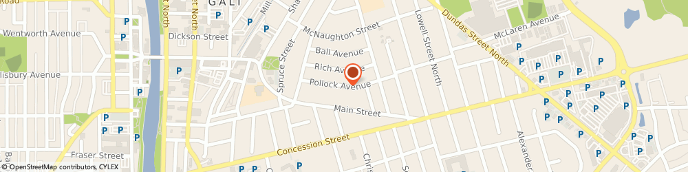Route/map/directions to Comely Productions, N1R 2A9 Cambridge, 35 Pollock Avenue