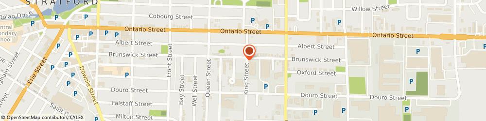 Route/map/directions to M C Distributing, N5A 0B1 Stratford, 79 Linton Ave
