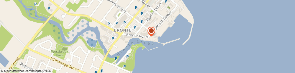 Route/map/directions to Bronte Heart Clinic, L6L 1A7 Oakville, 15 Bronte Rd