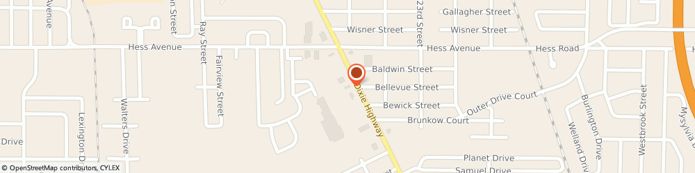 Route/map/directions to McDonald's, 48601 Saginaw, 3700 E Genesee St