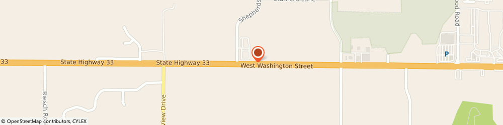 Route/map/directions to American Family Insurance- m Shannon Wink Agency Inc, 53095 West Bend, 3714 W WASHINGTON ST