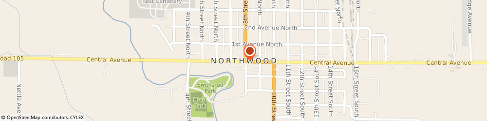 Route/map/directions to Yankee Candle Retailer, 50459 Northwood, 407 8Th Street North