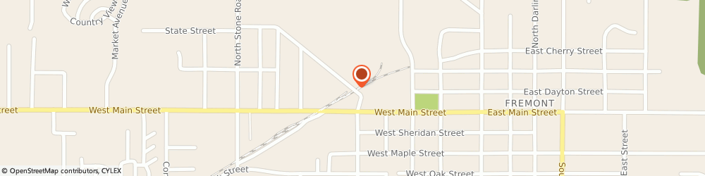 Route/map/directions to Gerber Life Insurance Company, 49412 Fremont, 445 State St