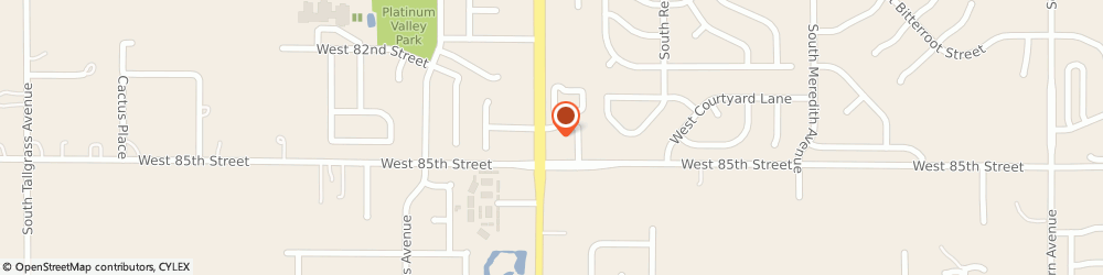 Route/map/directions to Subway, 57108 Sioux Falls, 7600 South Louise Avenue