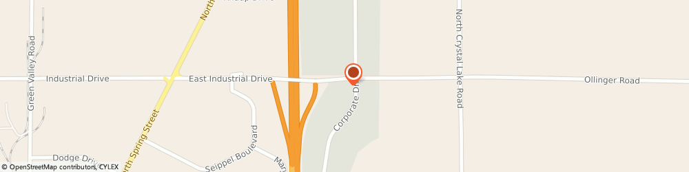 Route/map/directions to Visiting Angels, 53916 Beaver Dam, 140 Corporate Dr. Suite 2