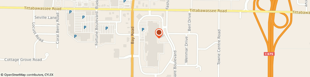 Route/map/directions to JOURNEYS, 48604 Saginaw, 4868 Fashion Square Mall