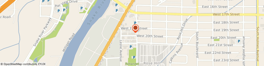 Route/map/directions to Grand Peaks Prime Meats, 83402 Idaho Falls, 530 W. 20th St.