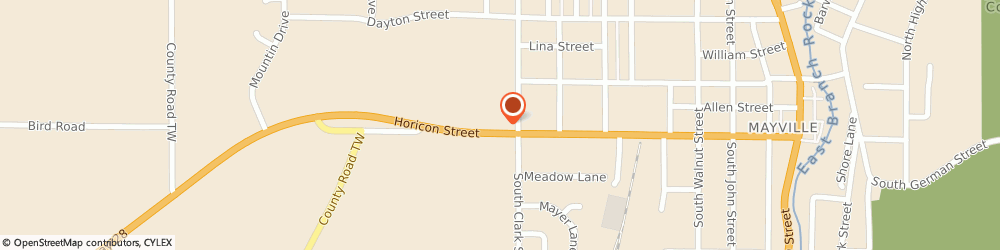 Route/map/directions to Subway, 53050 Mayville, 1030 Horicon Street