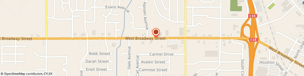 Route/map/directions to Papa Murphy's, 83402 Idaho Falls, 1857 West Broadway Street