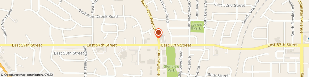 Route/map/directions to Taco John's, 57108 Sioux Falls, 1224 E 57th St